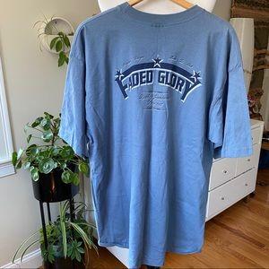 Vintage faded glory men's single stitch t-shirt